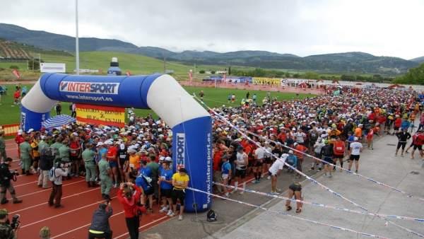 Imagen De La Marcha De Los 101 Kilómetros De La Legión