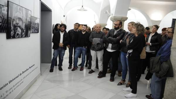 Exposición en la Asamblea de Extremadura