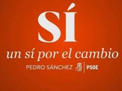 Nuevo lema del PSOE para el 26-J