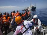 MSF rescata a inmigrantes en el Mediterráneo