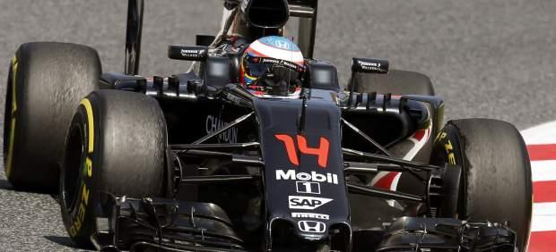 Pole para Hamilton en Montmeló, donde Fernando Alonso hizo su mejor calificación del año
