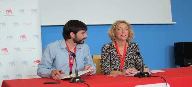 Álvaro Sanz y Patricia Luquin.
