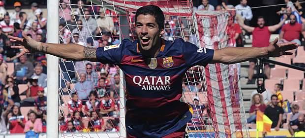 Luis Suárez le ganó la partida a Cristiano Ronaldo en la lucha por el Pichichi: metió 40 goles