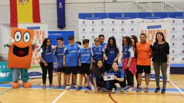 Clausura de Juegos Deportivos Provinciales de Voleibol de Almería