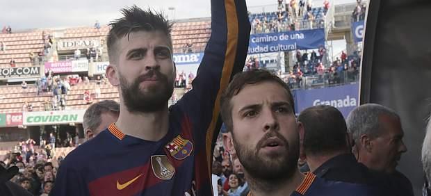 Fernández Díaz destaca que los jugadores del Barça defenderán la bandera de España