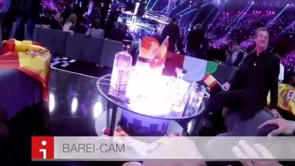 Así vivió Barei Eurovisión
