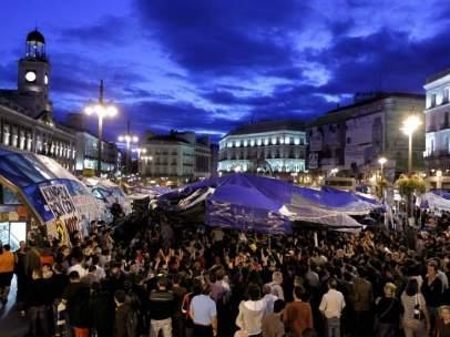 Asamblea del 15-M en Sol