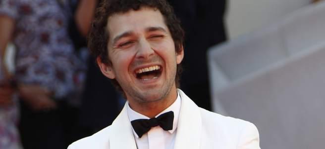 Shia LaBeouf en Cannes