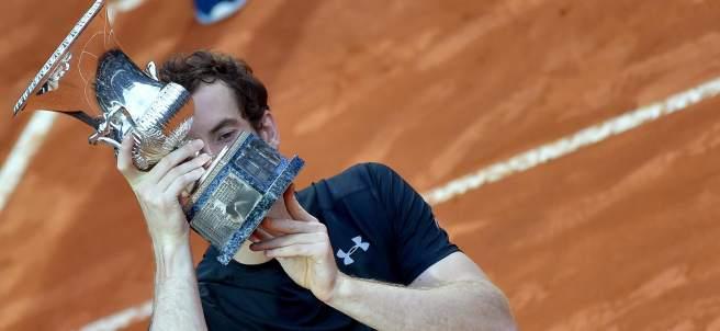 Murray levanta el título del Masters de Roma
