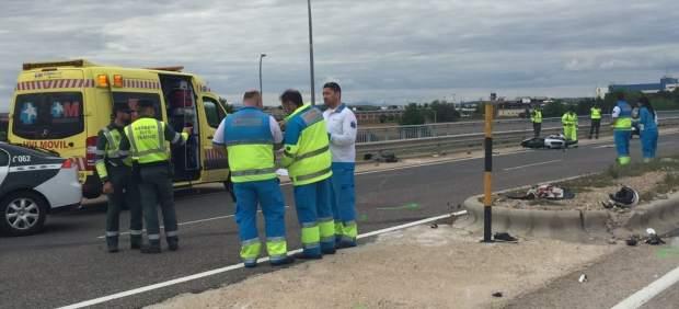 Once muertos en las carreteras, cinco de ellos motoristas, durante el fin de semana
