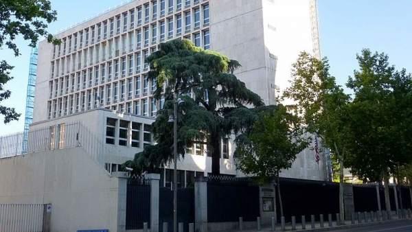 Embajada de EE UU en Madrid