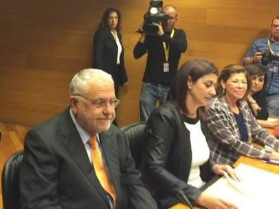 Juan Cotino en la Comisión del metro en las Corts