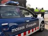 Dispositivo de tráfico de los Mossos d'Esquadra