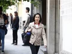 Margarita Robles en un acto del PSOE de Madrid