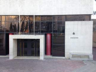 Juzgados de la Caleta, en Granada