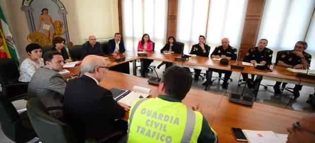 Reunión del operativo para el traslado a Hospital del PTS