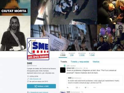 Secuestro de la cuenta de Twitter de los Mossos