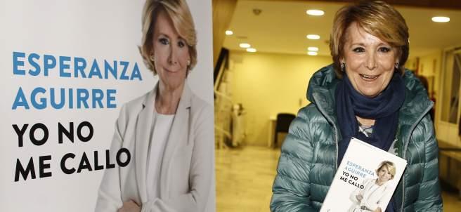 Esperanza Aguirre presenta su libro Yo no me callo