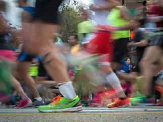 Correr y alimentación
