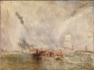 Joseph Mallord William Turner (British, 1775–1851) - Whalers, ca. 1845