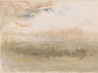 Joseph Mallord William Turner (British, 1775–1851) - Wreck on the Goodwin Sands: Sunset, ca. 1845