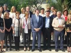 "Un espontáneo grita a Rajoy ""sois la mafia"" en un acto del PP"