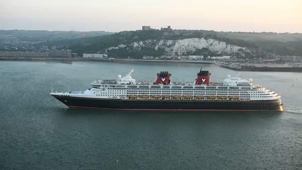 Disney Cruise Land en Dover