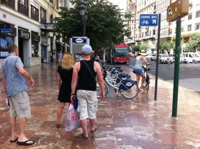 El sistema público de alquiler de bicicletas de Valencia pierde usuarios