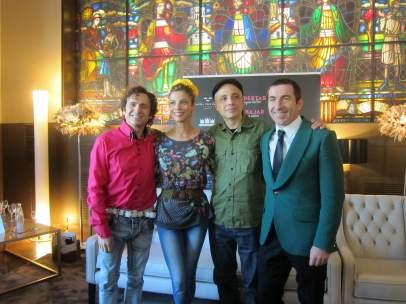 José Mota, Maribel Verdú, Pablo Berger y Antonio de la Torre.