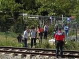 Muere una niña arrollada por un tren
