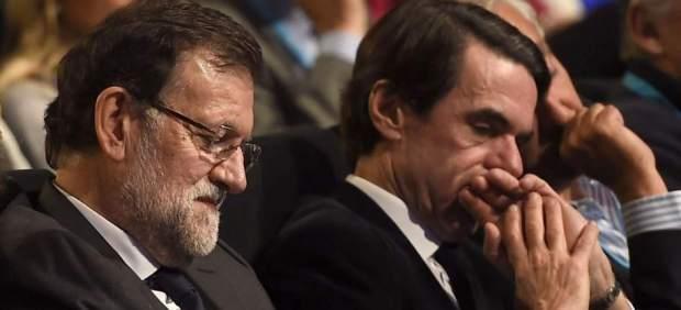 Rajoy responde a Aznar: No hay que reconstruir el centro derecha