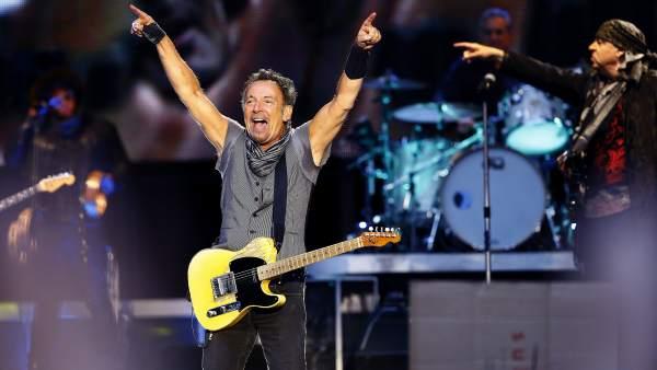 Bruce Springsteen en el Bernabeu