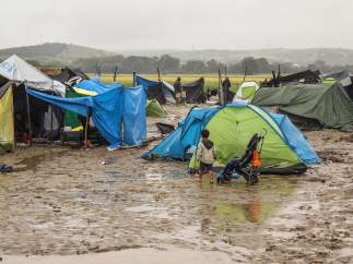 Campamento de Idomeni