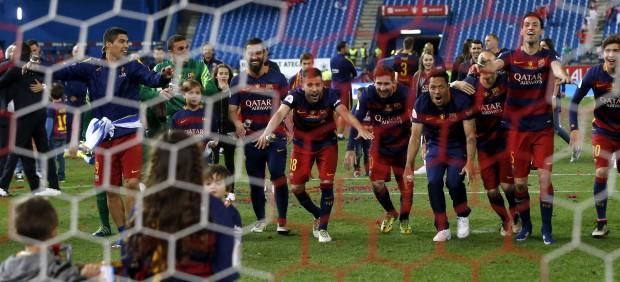 El doblete más agónico y el Barça más numantino
