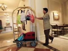 Trabajador hotel