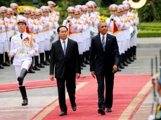 Visita de Obama a Vietnam