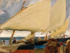 'Playa De Valencia' De Joaquín Sorolla Y Bastida (1910)