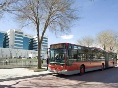 Autobús de la EMT de Valencia. Archivo