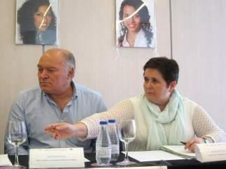 Los padres de acogida de Maloma y Koria