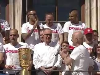 Homenaje a los españoles del Bayern