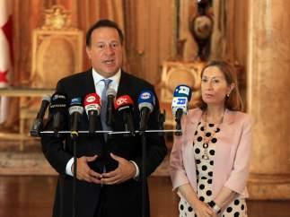 Juan Carlos Varela y Ana Pastor