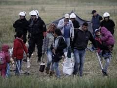 Comienzan a desalojar el campamento de refugiados de Idomeni