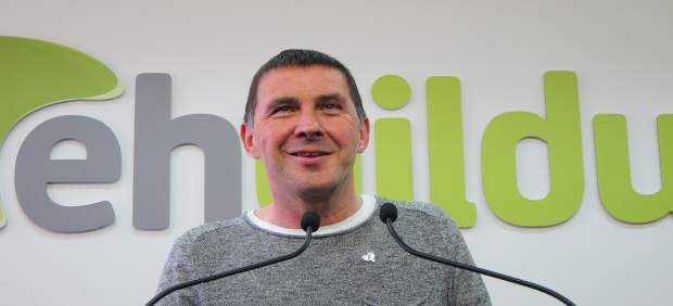 Las bases de EH Bildu ratifican a Arnaldo Otegi como candidato a lehendakari en las autonómicas