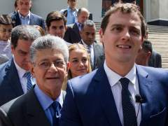 Rivera en el Parlamento venezolano
