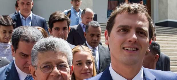 """Albert Rivera en Venezuela: """"Aquí no hay chavistas y opositores, hay gente pasando hambre"""""""