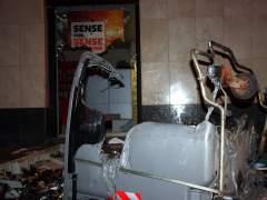 El Ayuntamiento cifra en 78.500 euros los daños en las protestas por el 'Banc Expropiat'