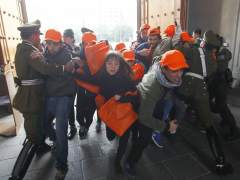 Estudiantes protestan en Chile contra la reforma educativa