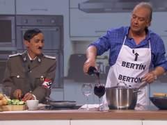 Buenafuente cumple el sueño de Bertín Osborne de entrevistar a Hitler