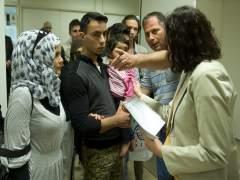 Los 45 refugiados procedentes de Grecia ya están en España