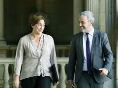"""Colau y Collboni firman un pacto de gobierno """"por Barcelona"""" y vuelven a invitar a ERC"""